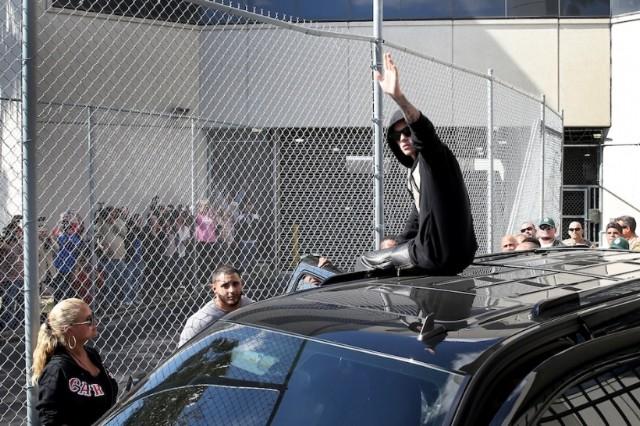 Justin Bieber Hoax Atlanta Protest ban regular guys radio show