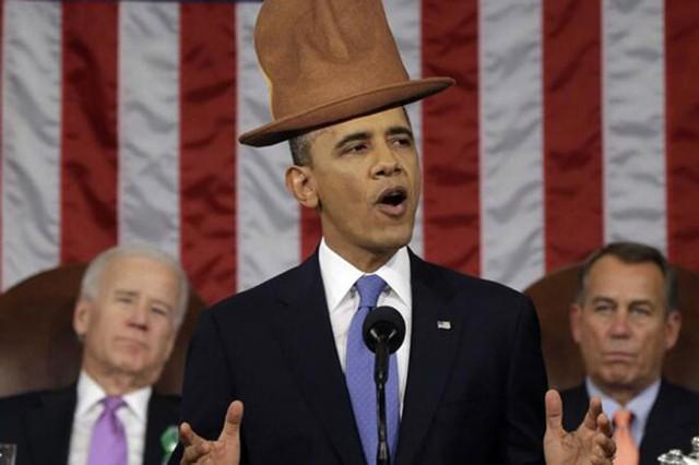 President Barack Obama State of the Union address Grammy memes
