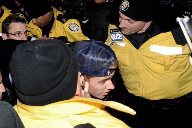 Justin Bieber, assault, Toronto, limousine driver, charged