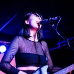 Dum Dum Girls Go All-Black-Everything at Mercury Lounge