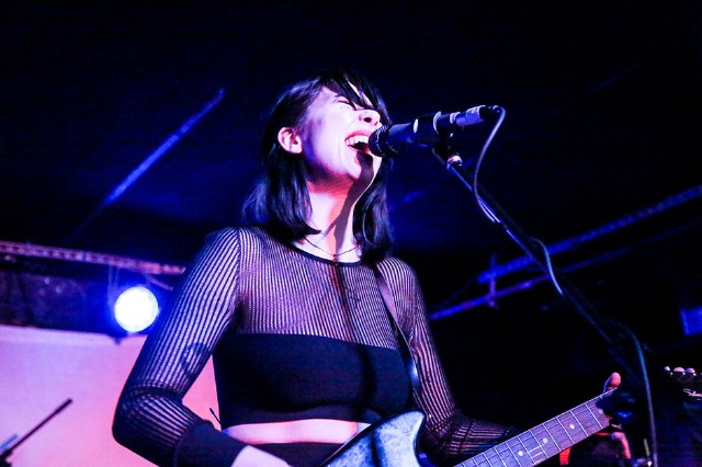 Dum Dum Girls at the Mercury Lounge, New York City, January 30, 2014 / Photo by Krista Schlueter