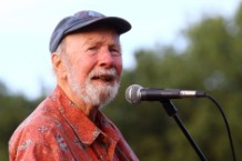 pete seeger, tribute, woody guthrie prize,
