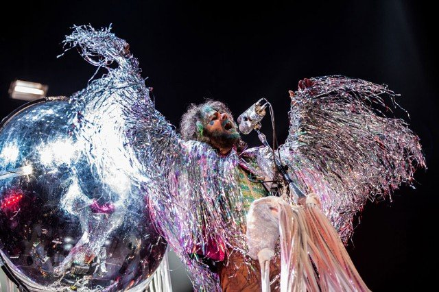 The Flaming Lips at Amnesty International Bringing Human Rights Home, Brooklyn, February 5, 2014