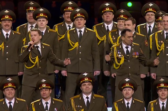 russian police choir, nbc, sochi olympics, daft punk