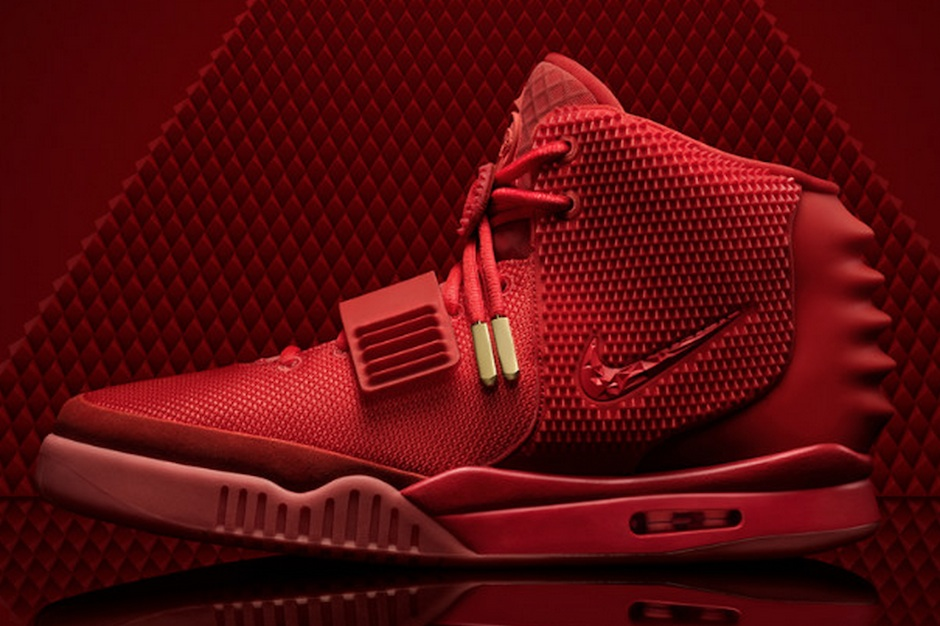 Kanye West, Air Yeezy 2, Red October, eBay, 10 million