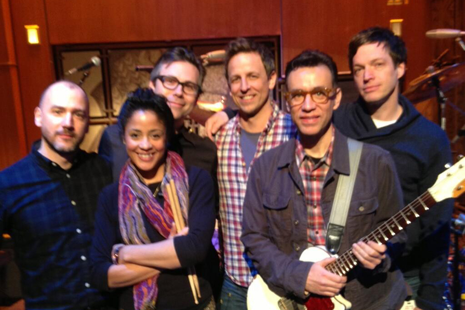 Seth Meyers Fred Armisen Late Night Les Savy Fav Band