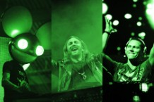 Deadmau5, David Guetta, Tiesto