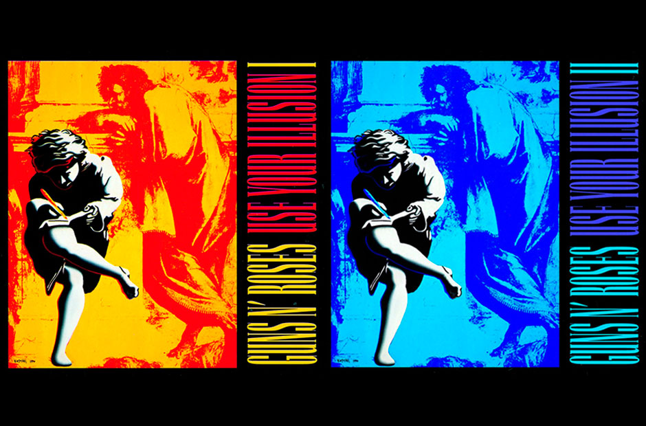 Guns N' Roses, Use Your Illusion I & II (Geffen) SPIN