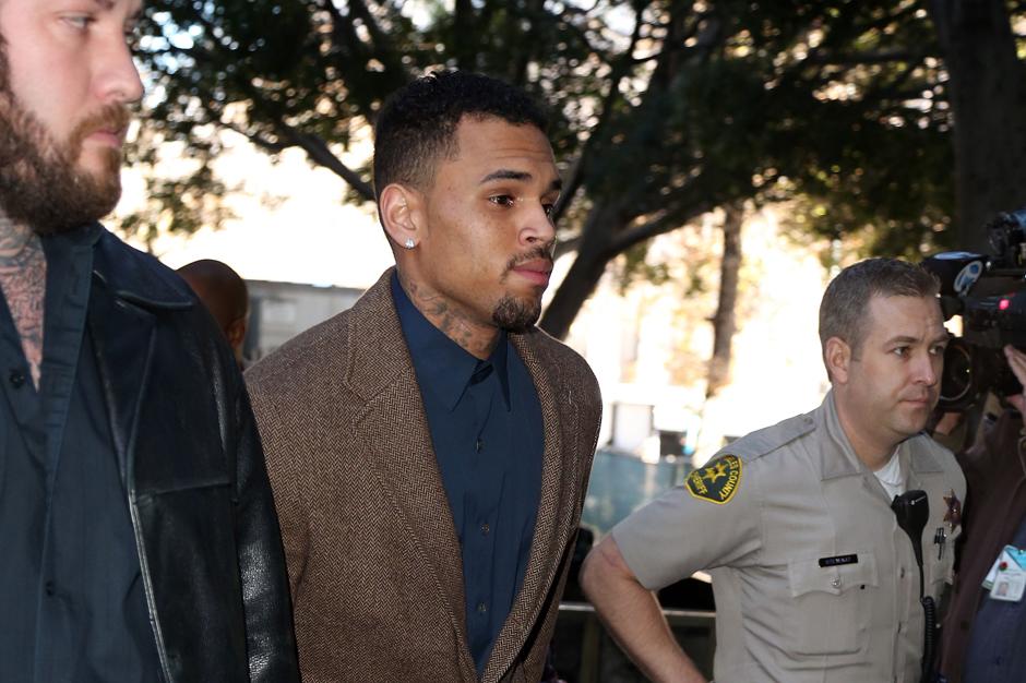 Chris Brown Basketball Assault Bloods Gym Lawsuit