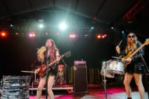 haim, coachella 2014, sideshows