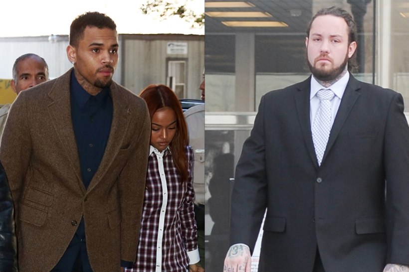 Chris Brown, Christopher Hollosy, Assault