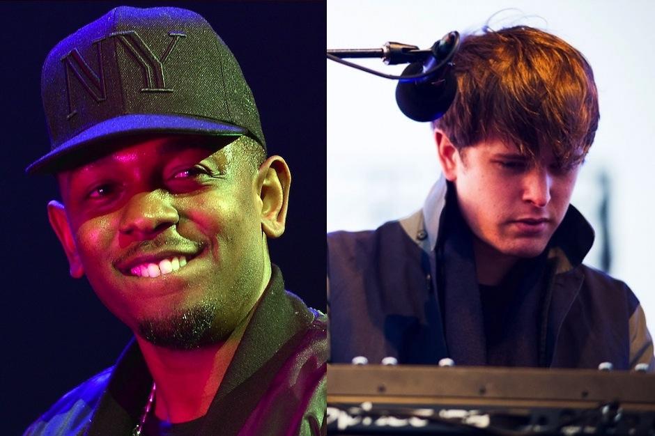 "James Blake, Kendrick Lamar, ""m.A.A.d. city,"" remix, Harmonimix, stream"