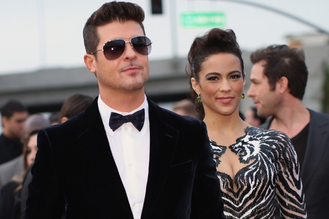 Robin Thicke and Paula Patton Are Peaceably Separating