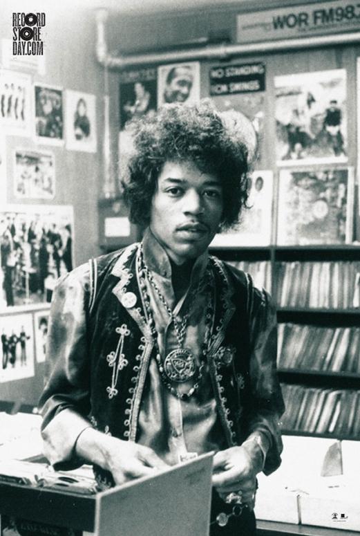 Jimi Hendrix Rifles Vintage Vinyl On Limited Edition