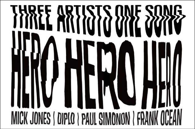 Frank Ocean, Diplo, Mick Jones, Paul Simonon 'Hero' Converse