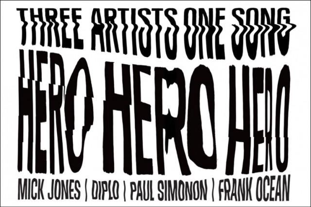 """Frank Ocean, Diplo, Clash, """"Hero"""""""