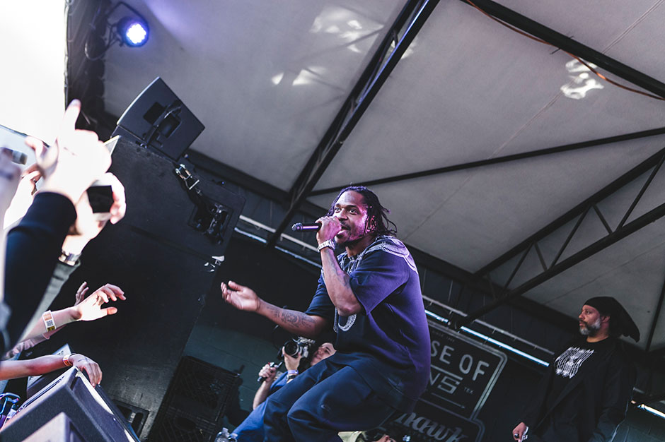 Pusha T at SPIN's House of Vans Showcase at Mohawk, Wednesday, March 12, 2014