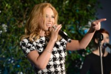 Kylie Minogue Is a Carefree Pop-Star Chameleon Once Again on 'Kiss Me Once'