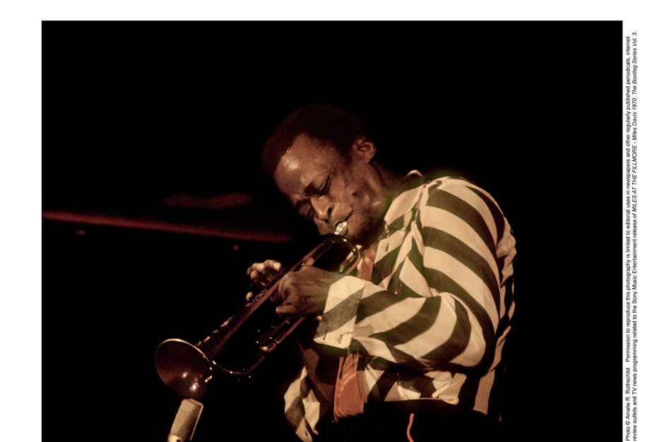 miles davis, miles runs the voodoo down, bitches brew, live at the fillmore 1970