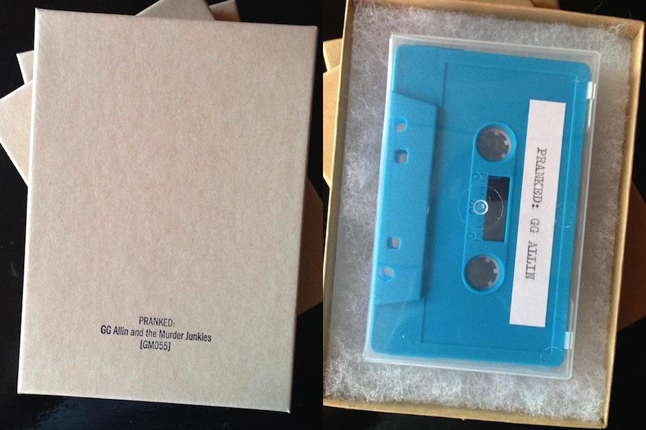 GG Allin, prank calls, Godmode, cassette