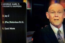 George Karl, Gucci Mane, ESPN, 2Pac, Notorious B.I.G., Jay Z