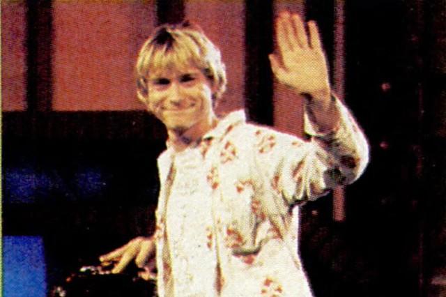 Kurt Cobain in 1992