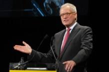 David Letterman retiring retirement Mike Mills
