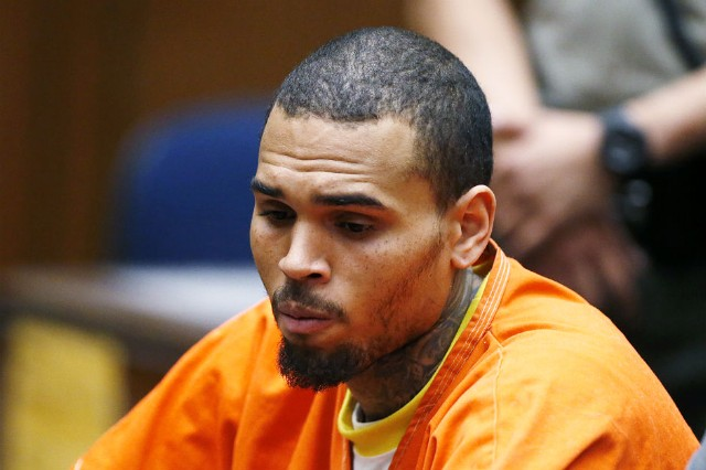 Chris Brown U.S. Marshals Custody Washington D.C. Trial