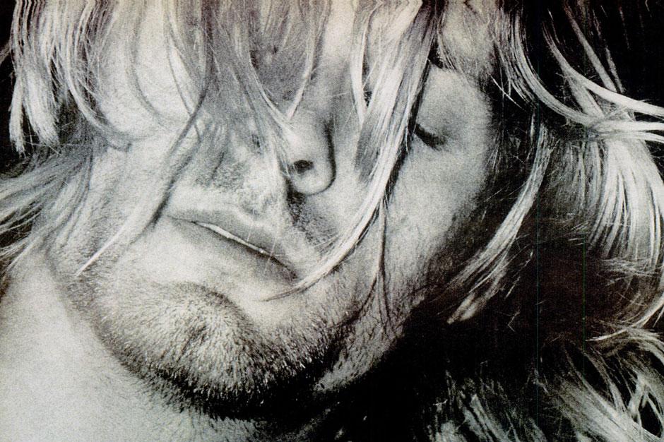 Cobain close-up
