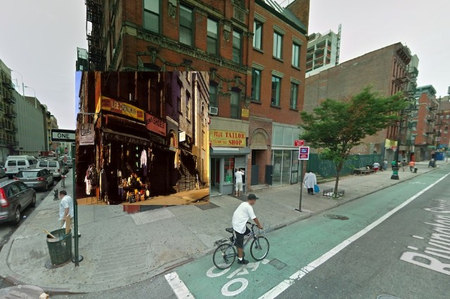 Google Street View album covers PJ Harvey, Eminem, Oasis, the Streets, Bob Dylan, the Beatles