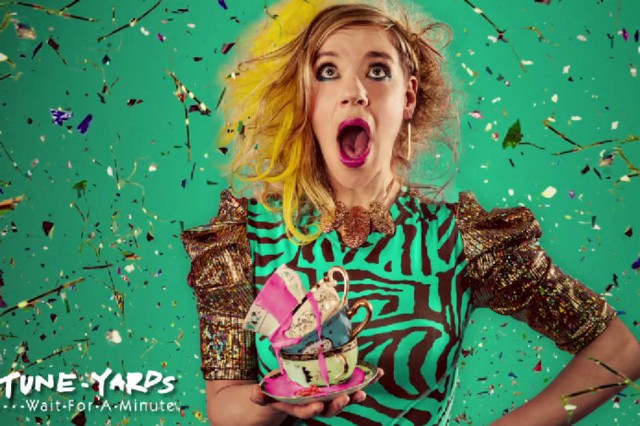 "Tune-yards ""wait for a minute"" 'nikki nack' album"