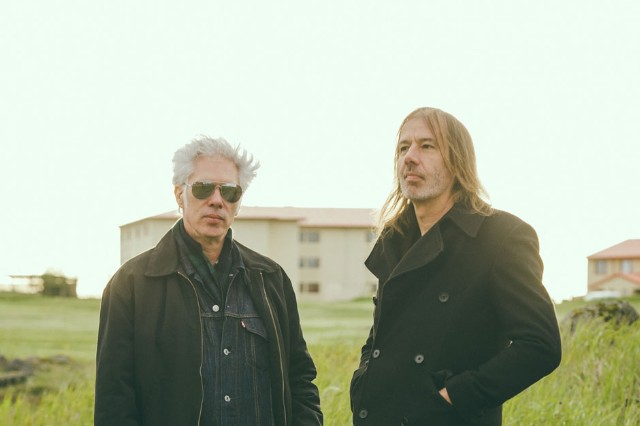 Jim Jarmusch and Jozef van Wissem at ATP Iceland, Keflavik, Iceland, June 28, 2014