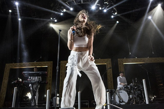 Lorde at Coachella, Indio, California, April 12, 2014