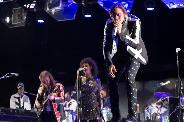 Arcade Fire Secret Show Los Angeles Roxy