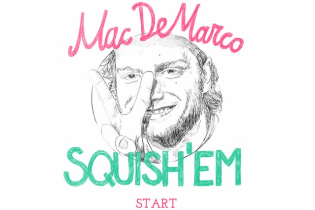 Mac DeMarco Video Game Squish'Em