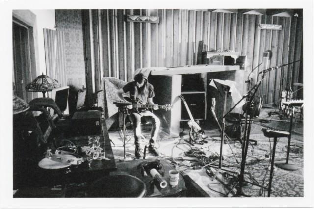 Cerebral Ballzy in the studio at Sonic Ranch, Tornillo, Texas