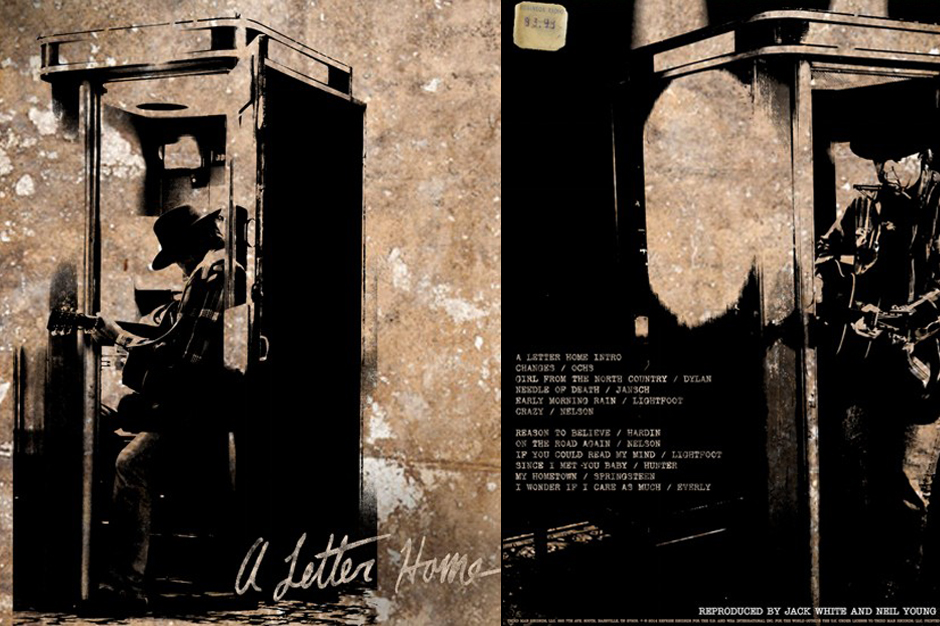 Neil Young A Letter Home Covers Album Jack White