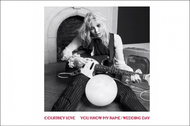 Courtney Love 'Wedding Day' Stream Single