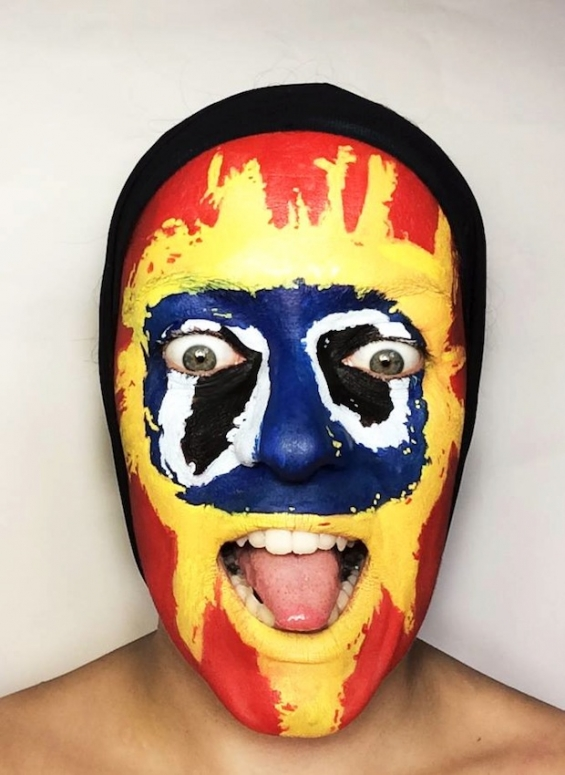Primal Scream, 'Screamadelica,' face paint