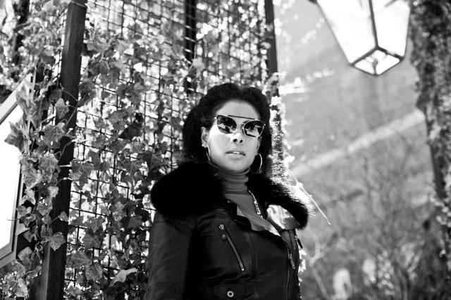 Kelis in New York City, April 2014