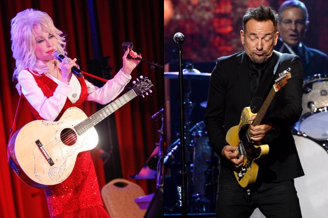Bruce Springsteen Dolly Parton 'I'm on Fire' Sped Up