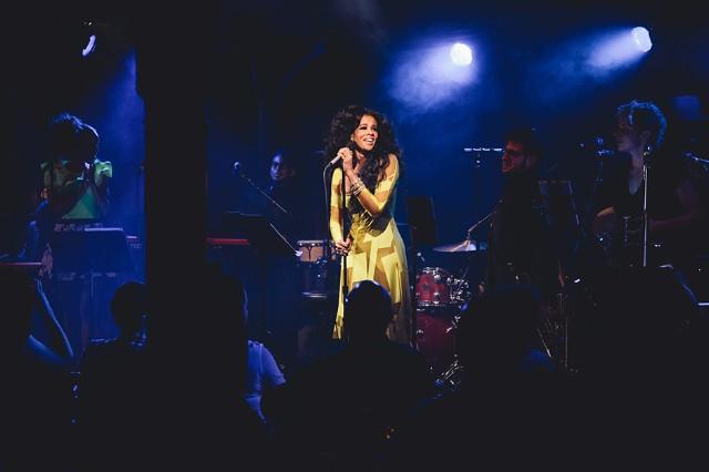 Kelis at the McKittrick Hotel, New York City, April 23, 2014 / Photo by Andrew Swartz