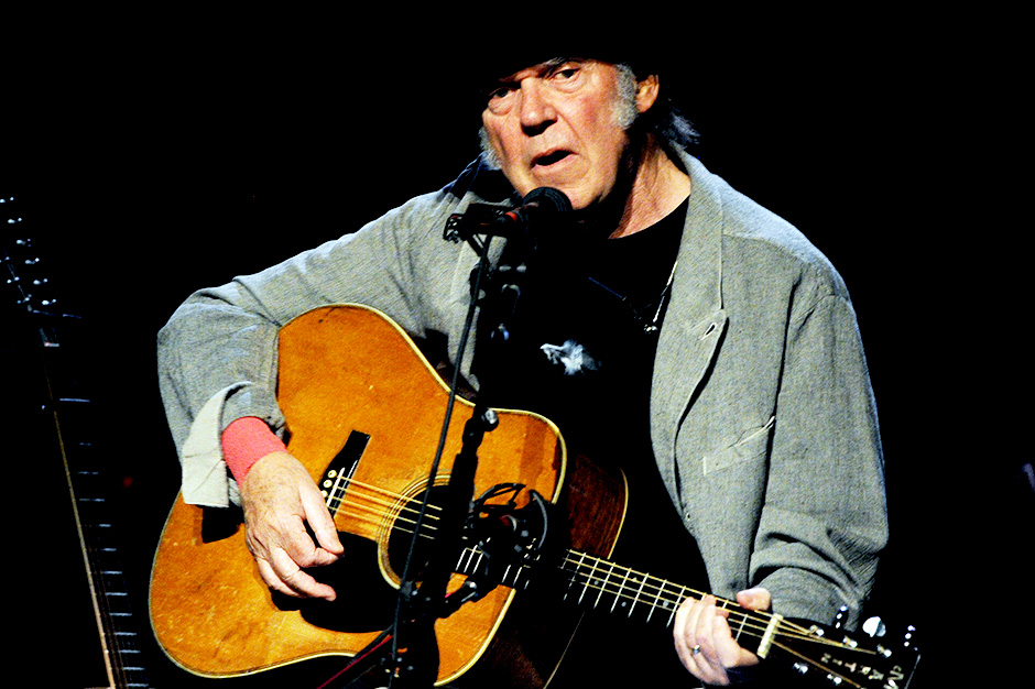 neil young, a letter home, deluxe box set