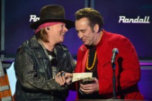 Nicolas Cage Axl Rose Video Revolver Golden Gods Awards