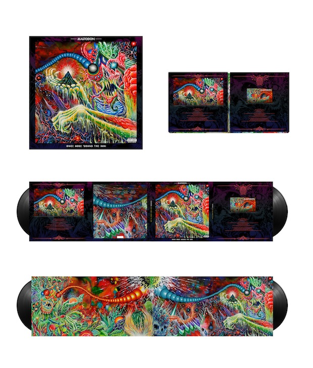 Mastodon Album Packaging