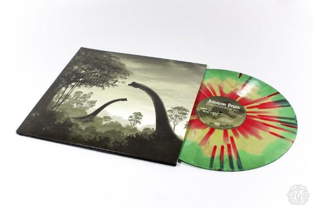Jurassic Park, score, soundtrack, vinyl