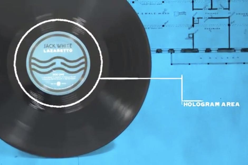 Jack White S Lazaretto Vinyl Will Create A Hologram When