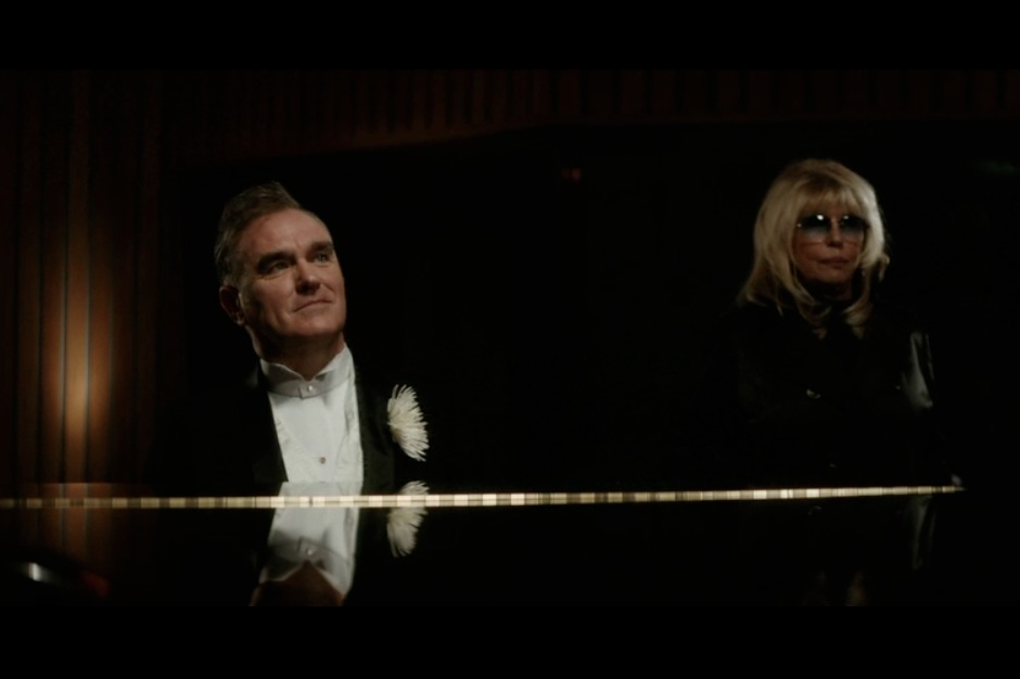 """Morrissey, Nancy Sinatra, """"World Peace Is None of Your Business,"""" video"""