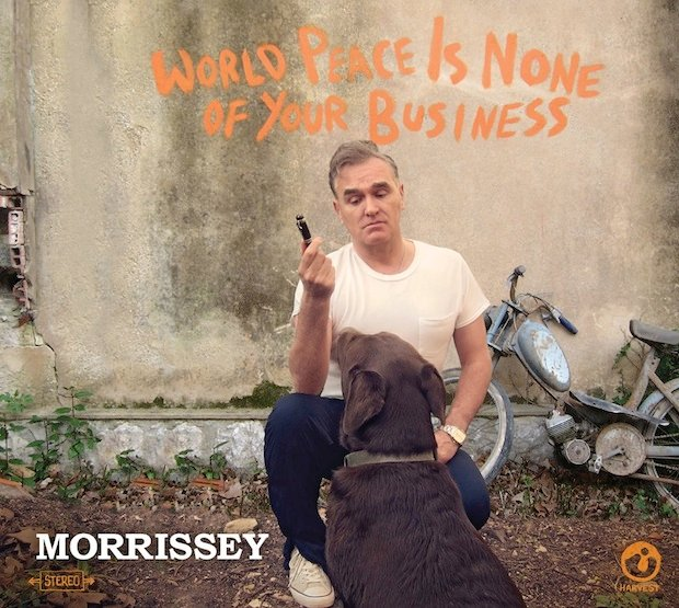 Morrissey, 'World Peace Is None of Your Business,' cover art