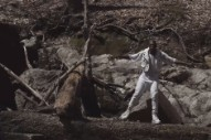 Le1f Flexes in the Forest for 'Sup' Video